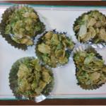 グリーンコーンフレーク菓